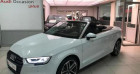 Audi A3 Cabriolet 35 TFSI 150ch Design luxe S tronic 7 Euro6d-T Blanc à Chambourcy 78