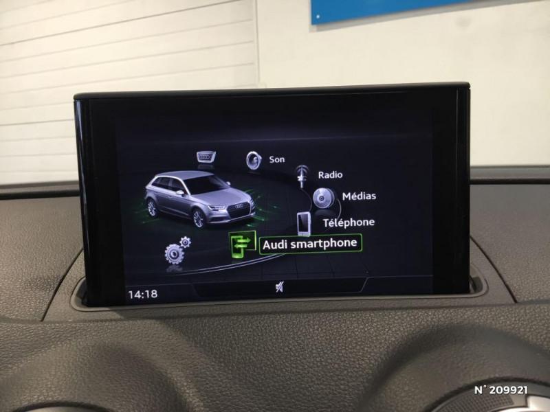 Audi A3 Sportback 1.4 TFSI 125ch Ambiente Blanc occasion à Saint-Quentin - photo n°10