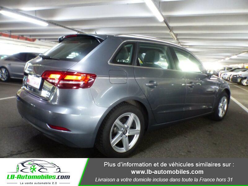 Audi A3 Sportback 1.4 TFSI 150 Gris occasion à Beaupuy - photo n°3