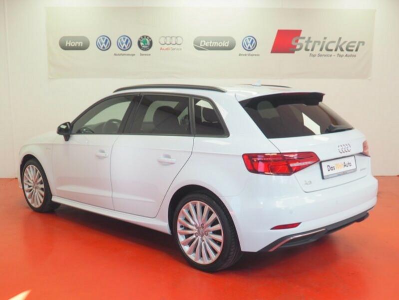 Audi A3 Sportback 1.4 TFSI 204CH E-TRON S LINE S TRONIC 6 Blanc occasion à Villenave-d'Ornon - photo n°2