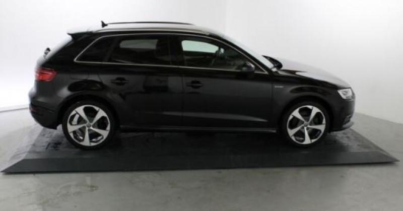Audi A3 Sportback 1.4 TFSI 204CH E-TRON S LINE S TRONIC 6 Noir occasion à Villenave-d'Ornon - photo n°3