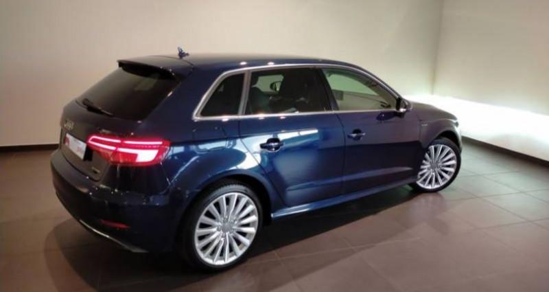 Audi A3 Sportback 1.4 TFSI e-tron 204 S tronic 6 Design Luxe Bleu occasion à Chenove - photo n°3