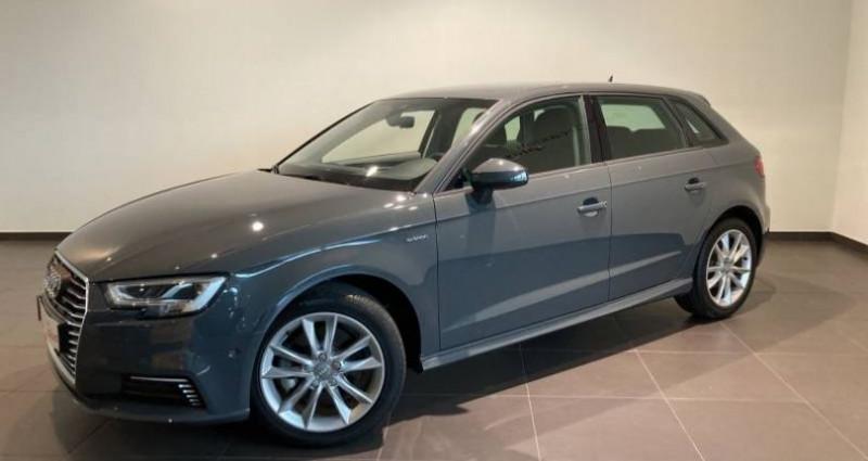 Audi A3 Sportback 1.4 TFSI e-tron 204 S tronic 6 S line Gris occasion à Chenove