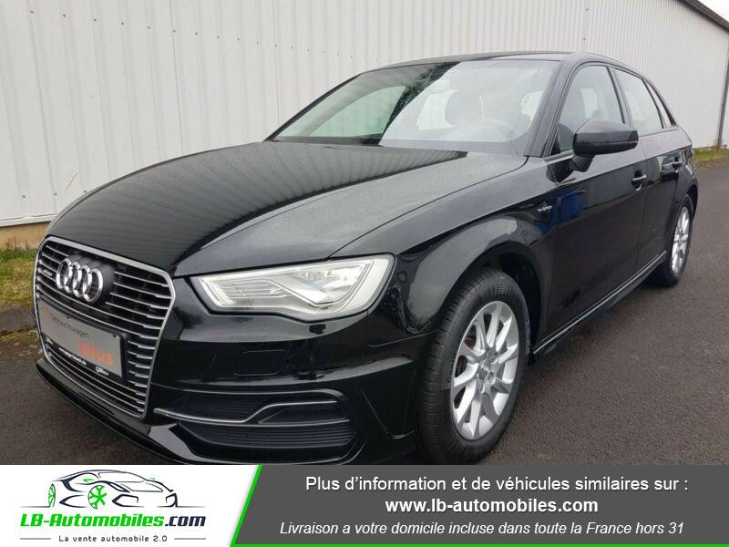 Audi A3 Sportback 1.4 TFSI e-tron 204 S tronic Noir occasion à Beaupuy - photo n°3