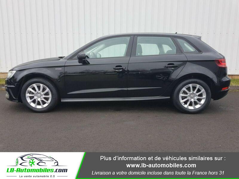 Audi A3 Sportback 1.4 TFSI e-tron 204 S tronic Noir occasion à Beaupuy - photo n°4