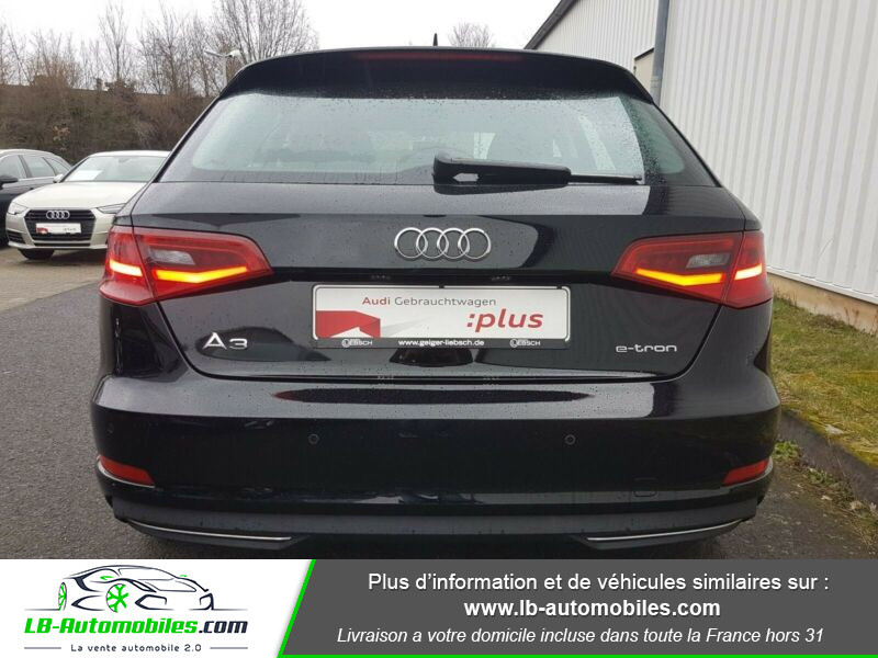 Audi A3 Sportback 1.4 TFSI e-tron 204 S tronic Noir occasion à Beaupuy - photo n°6