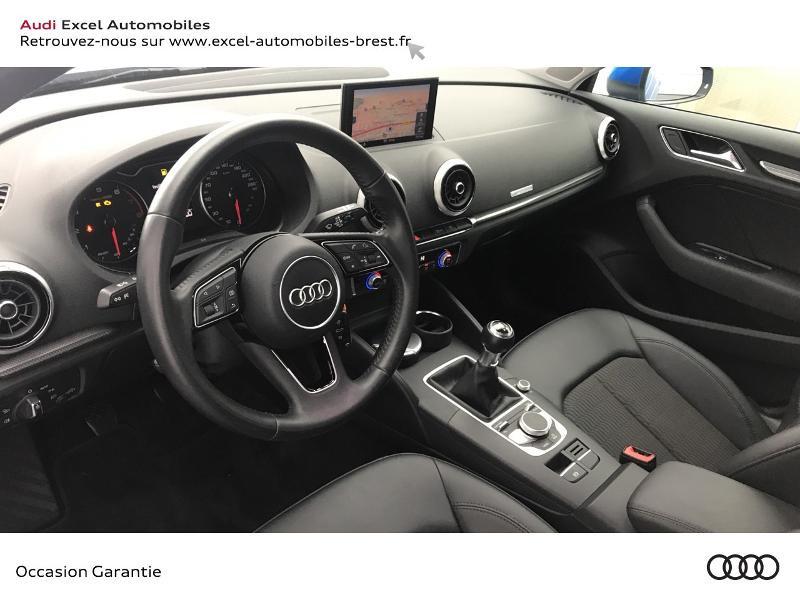 Audi A3 Sportback 1.5 TFSI 150ch Design Bleu occasion à Brest - photo n°6