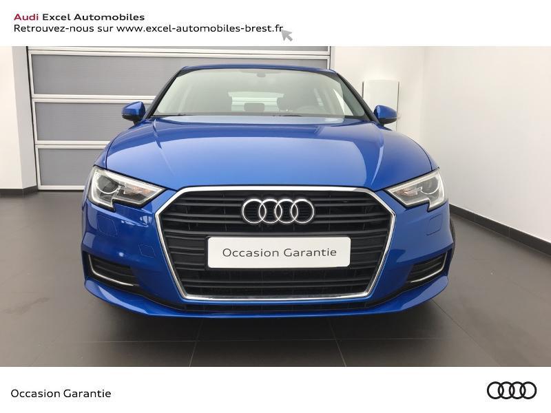 Audi A3 Sportback 1.5 TFSI 150ch Design Bleu occasion à Brest - photo n°2