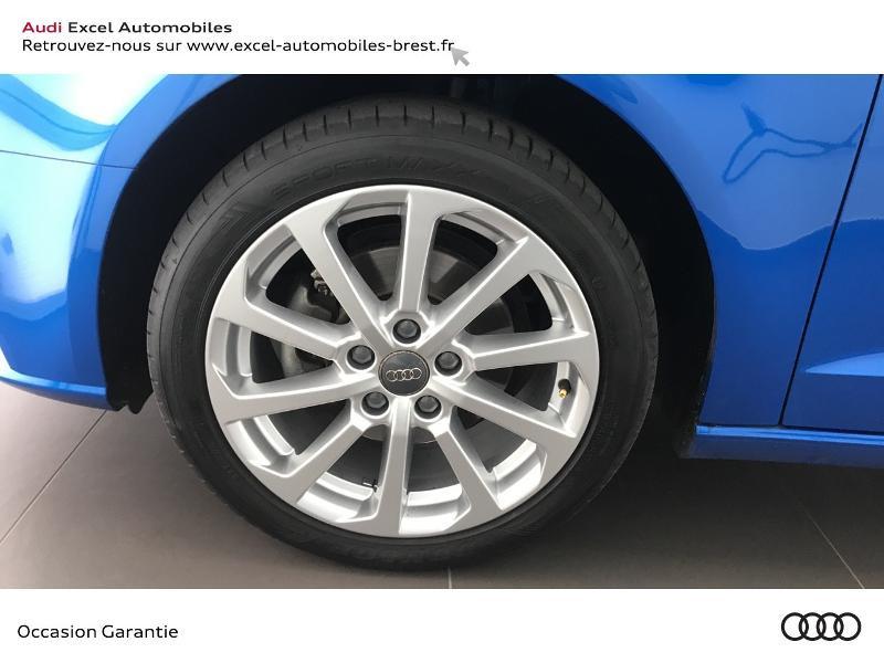 Audi A3 Sportback 1.5 TFSI 150ch Design Bleu occasion à Brest - photo n°15