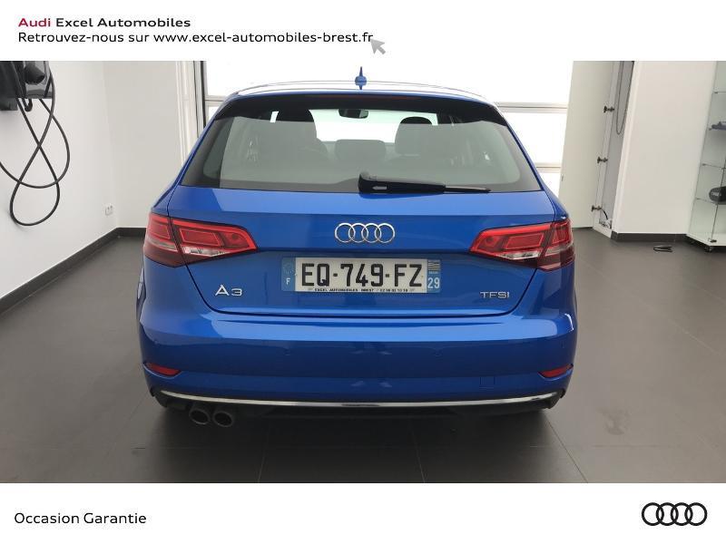 Audi A3 Sportback 1.5 TFSI 150ch Design Bleu occasion à Brest - photo n°5