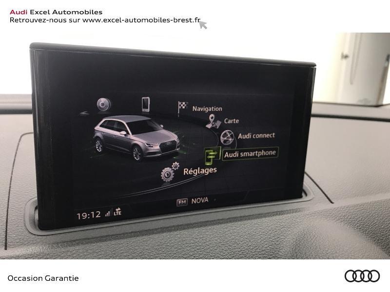 Audi A3 Sportback 1.5 TFSI 150ch Design Bleu occasion à Brest - photo n°14