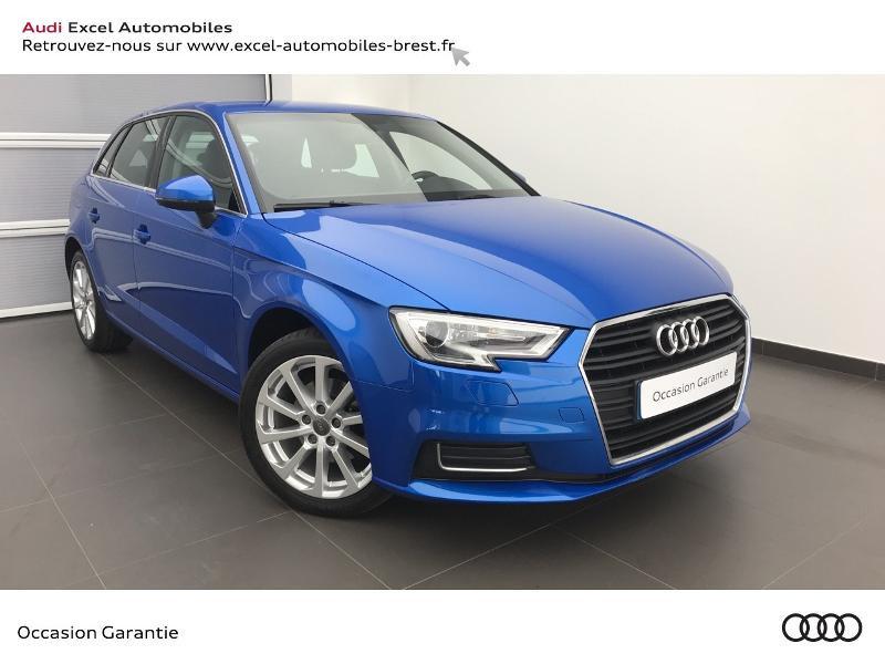 Audi A3 Sportback 1.5 TFSI 150ch Design Bleu occasion à Brest