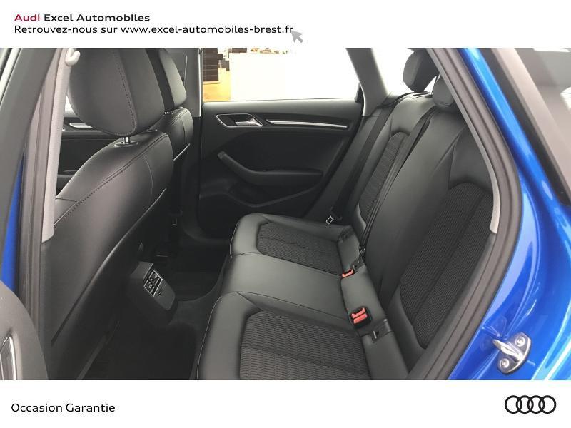 Audi A3 Sportback 1.5 TFSI 150ch Design Bleu occasion à Brest - photo n°8