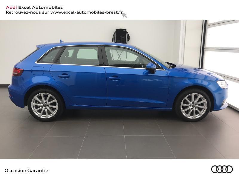 Audi A3 Sportback 1.5 TFSI 150ch Design Bleu occasion à Brest - photo n°3