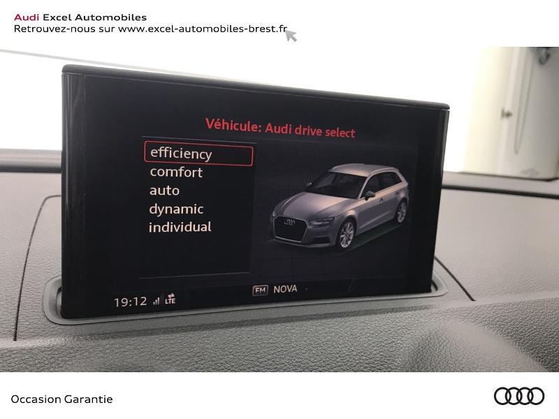 Audi A3 Sportback 1.5 TFSI 150ch Design Bleu occasion à Brest - photo n°12