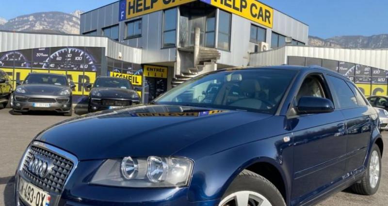 Audi A3 Sportback 1.6 FSI 115CH ATTRACTION 3P Bleu occasion à VOREPPE
