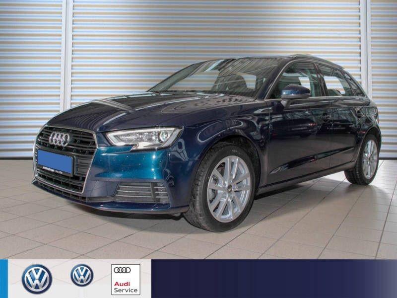 Audi A3 Sportback 1.6 TDI 110 S Tronic Bleu occasion à Beaupuy