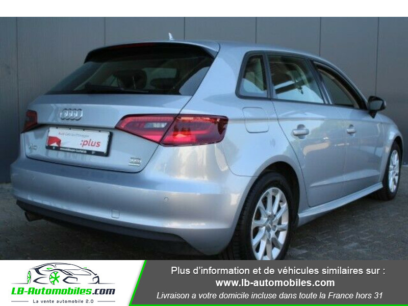 Audi A3 Sportback 1.6 TDI 110 Gris occasion à Beaupuy - photo n°3