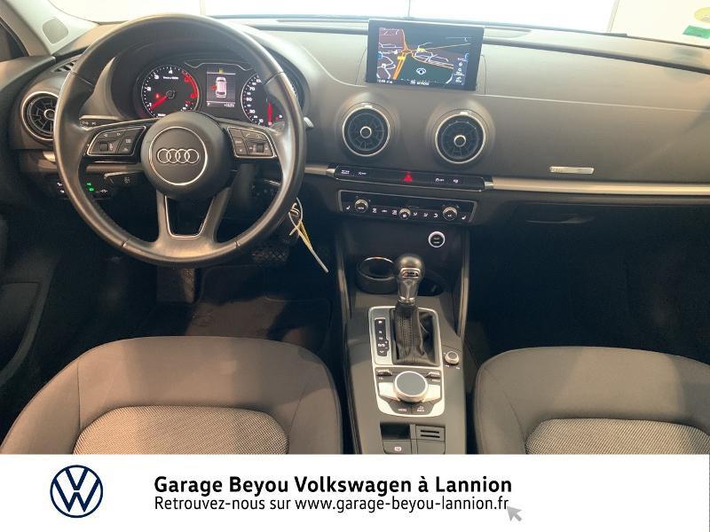Audi A3 Sportback 1.6 TDI 110ch Business line S tronic 7 Bleu occasion à Lannion - photo n°6