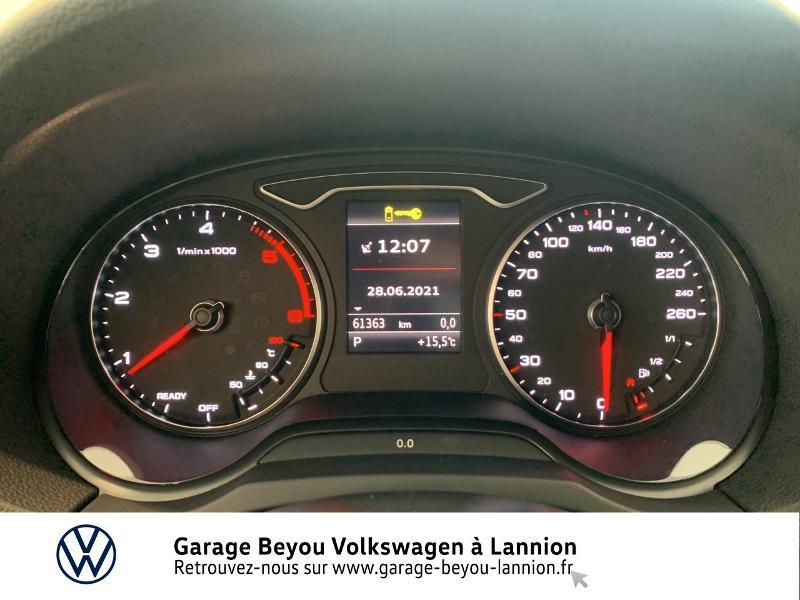 Audi A3 Sportback 1.6 TDI 110ch Business line S tronic 7 Bleu occasion à Lannion - photo n°9