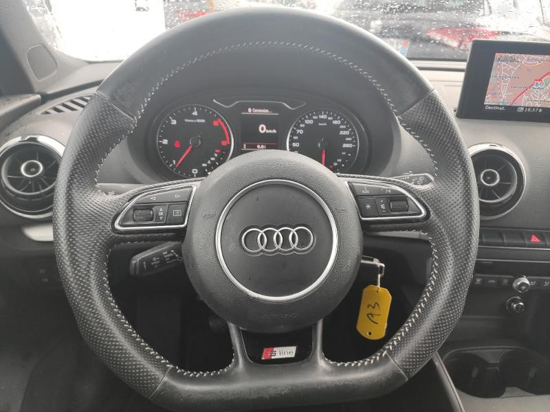 Audi A3 Sportback 1.6 TDI 110ch FAP S line Gris occasion à Onet-le-Château - photo n°4