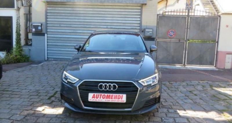 Audi A3 Sportback 1.6 TDI 116CH BUSINESS LINE S TRONIC 7 Gris occasion à Juvisy Sur Orge