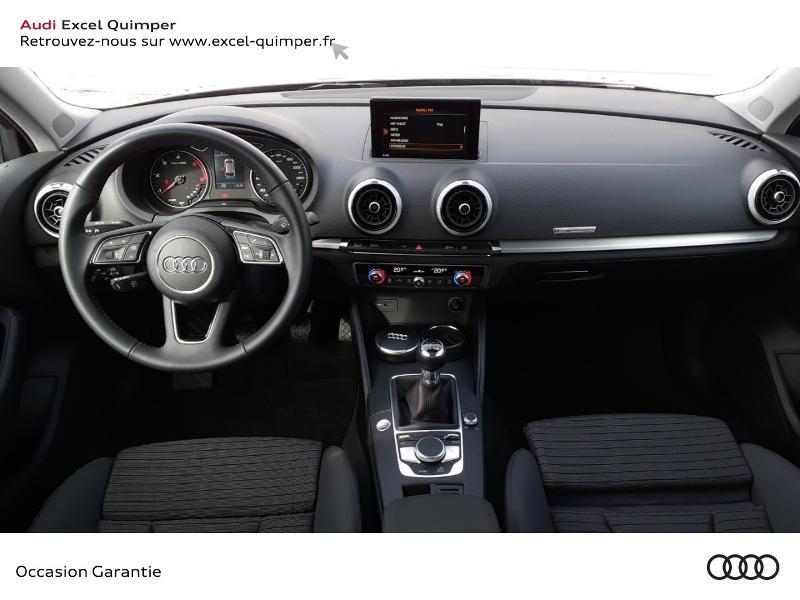 Audi A3 Sportback 1.6 TDI 116ch Midnight Series Noir occasion à Quimper - photo n°6