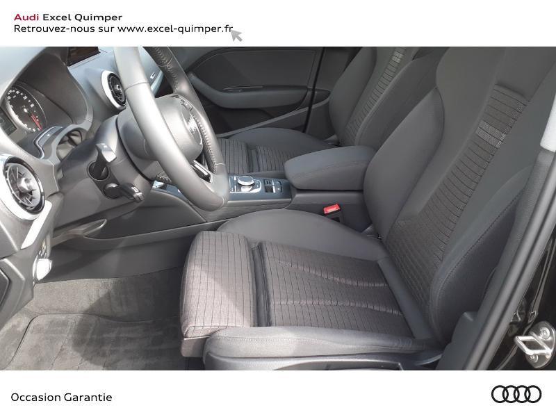 Audi A3 Sportback 1.6 TDI 116ch Midnight Series Noir occasion à Quimper - photo n°7