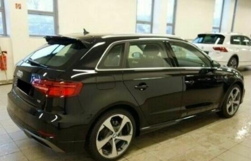 Audi A3 Sportback 1.6 TDI 116CH S LINE S TRONIC 7 Noir occasion à Villenave-d'Ornon - photo n°3