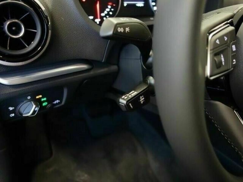 Audi A3 Sportback 1.6 TDI 116CH S LINE S TRONIC 7 Noir occasion à Villenave-d'Ornon - photo n°9