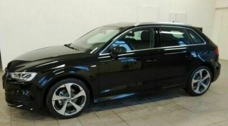 Audi A3 Sportback 1.6 TDI 116CH S LINE S TRONIC 7 Noir occasion à Villenave-d'Ornon
