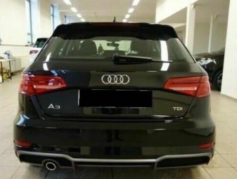 Audi A3 Sportback 1.6 TDI 116CH S LINE S TRONIC 7 Noir occasion à Villenave-d'Ornon - photo n°5