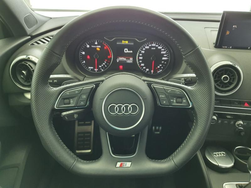 Audi A3 Sportback 1.6 TDI 116ch S line S tronic 7 Blanc occasion à Onet-le-Château - photo n°4