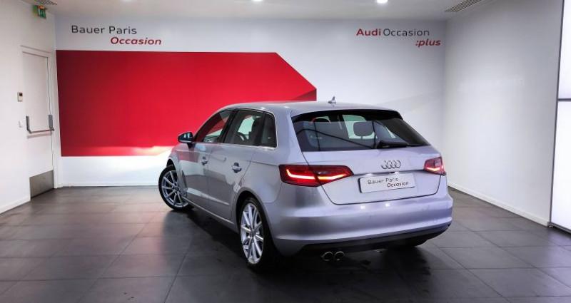 Audi A3 Sportback 1.8 TFSI 180 Ambition Luxe S tronic 7 Gris occasion à Saint-Ouen - photo n°4