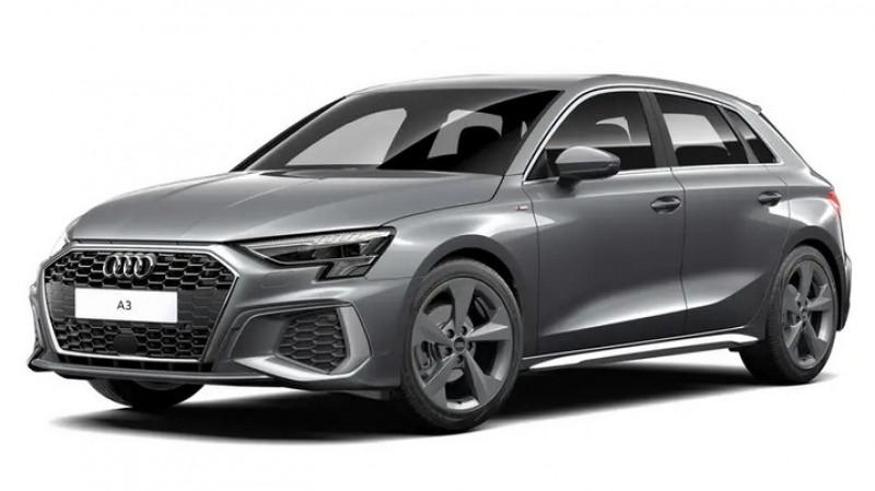 Audi A3 Sportback 2.0 35 tdi 150cv s tronic 7 s line + jantes 18 + recharge sm Gris occasion à Ganges