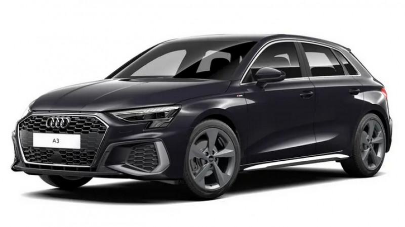 Audi A3 Sportback 2.0 35 tdi 150cv s tronic 7 s line + jantes 18 + recharge sm Noir occasion à Ganges
