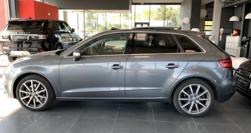 Audi A3 Sportback 2.0 TDI 150 S tronic 6 Design Luxe Gris occasion à LE SOLER - photo n°2