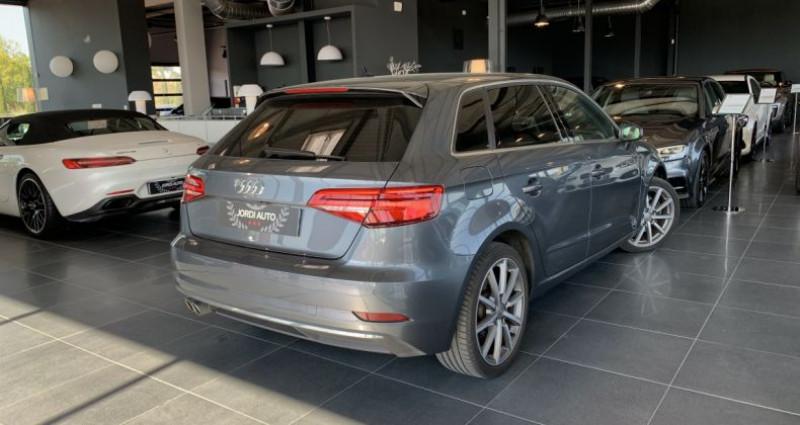 Audi A3 Sportback 2.0 TDI 150 S tronic 6 Design Luxe Gris occasion à LE SOLER - photo n°3