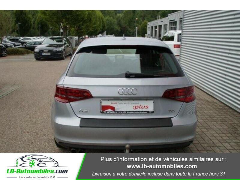 Audi A3 Sportback 2.0 TDI 150 / S-Tronic Argent occasion à Beaupuy - photo n°8