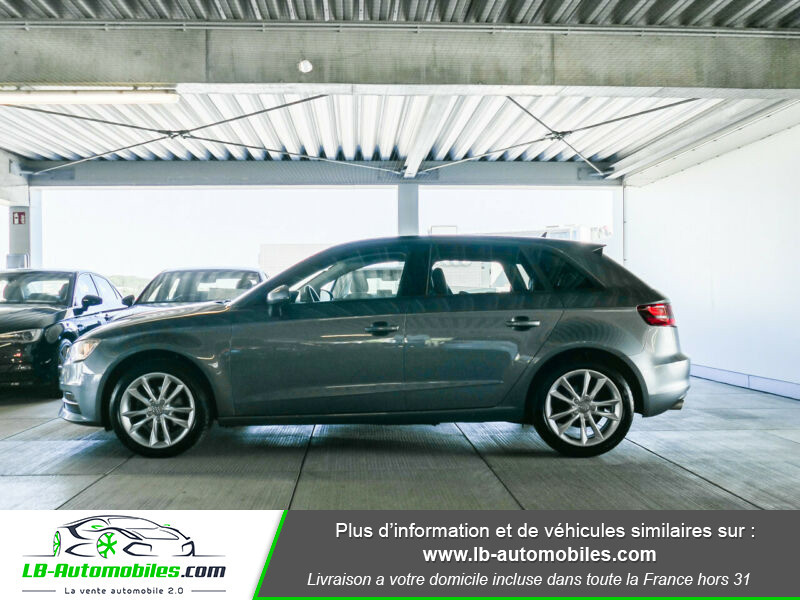 Audi A3 Sportback 2.0 TDI 150 / S-Tronic Gris occasion à Beaupuy - photo n°10
