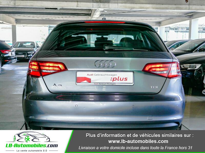 Audi A3 Sportback 2.0 TDI 150 / S-Tronic Gris occasion à Beaupuy - photo n°11