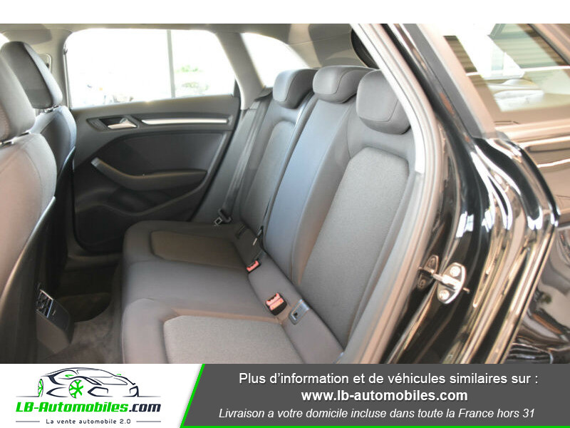 Audi A3 Sportback 2.0 TDI 150 / S-Tronic Noir occasion à Beaupuy - photo n°5