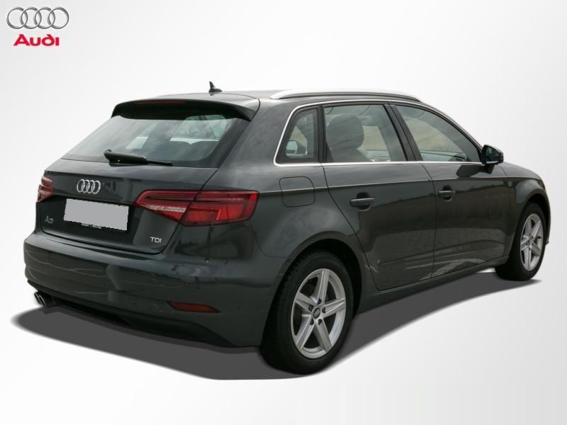 Audi A3 Sportback 2.0 TDI 150 Gris occasion à Beaupuy - photo n°3