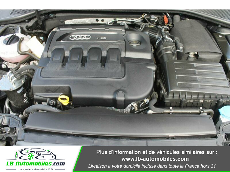 Audi A3 Sportback 2.0 TDI 150 Noir occasion à Beaupuy - photo n°13