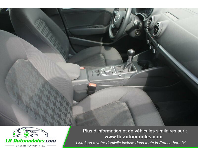 Audi A3 Sportback 2.0 TDI 150 Noir occasion à Beaupuy - photo n°6