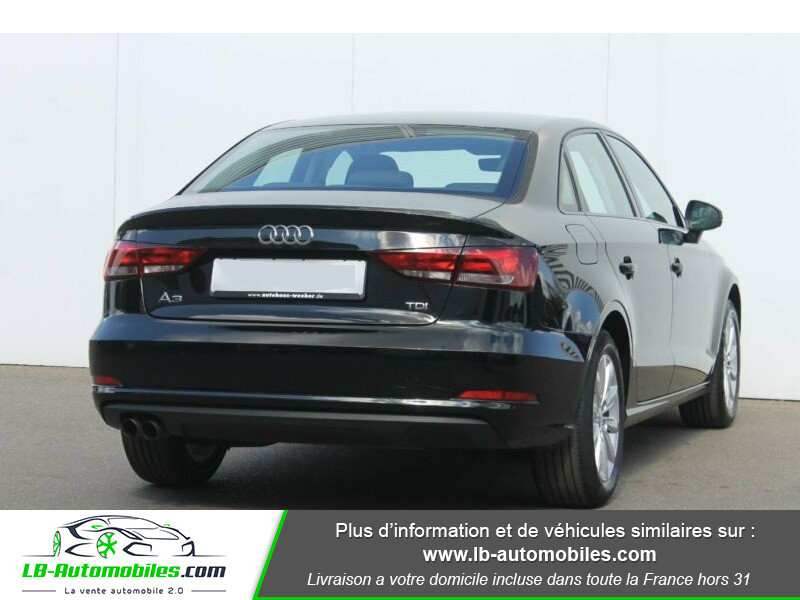 Audi A3 Sportback 2.0 TDI 150 Noir occasion à Beaupuy - photo n°3