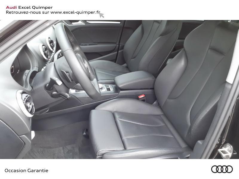 Audi A3 Sportback 2.0 TDI 150ch Design luxe S tronic 7 Noir occasion à Quimper - photo n°7
