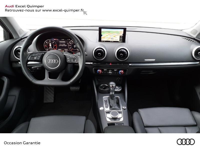 Audi A3 Sportback 2.0 TDI 150ch Design luxe S tronic 7 Noir occasion à Quimper - photo n°6