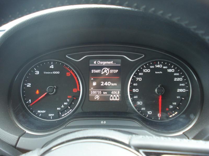 Audi A3 Sportback 2.0 TDI 150ch Design quattro Bleu occasion à Aurillac - photo n°11