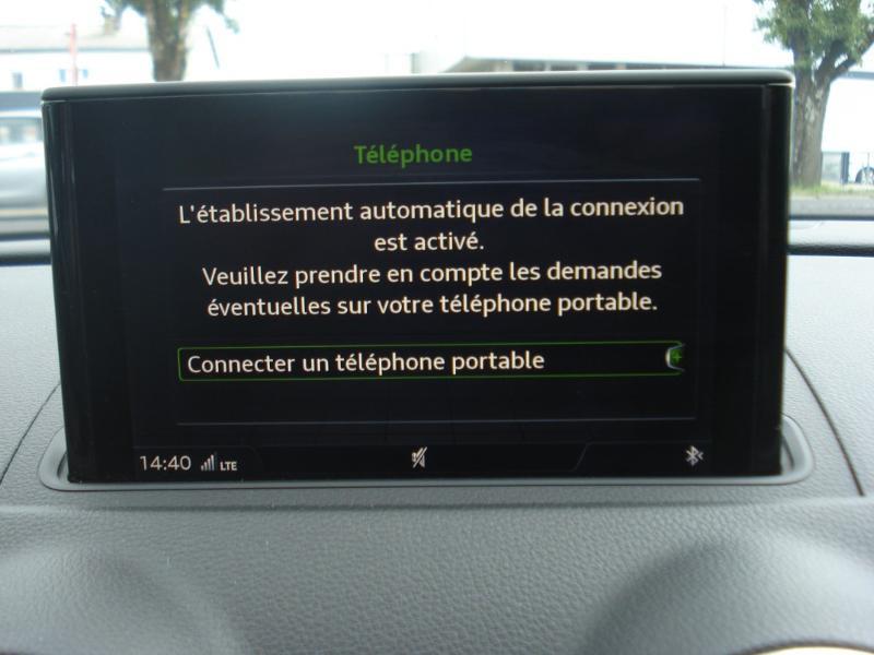 Audi A3 Sportback 2.0 TDI 150ch Design quattro Bleu occasion à Aurillac - photo n°5